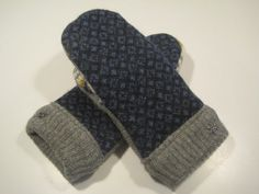 Grand Haven Wool Mittens  lg/xlg  MMC446 by MichMittensbyLauri, $23.00