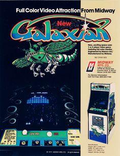 Galaxian: Arcade needs more space!