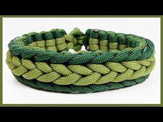 "Paracord Armband Tutorial: ""Marginal Herringbone Endless Falls"" Armband Design … - Makrame Simple Home Decor Paracord Bracelet Instructions, Paracord Bracelet Designs, Macrame Bracelet Patterns, Paracord Tutorial, Bracelets Design, Paracord Projects, Paracord Bracelets, Bracelet Tutorial, Knot Bracelets"
