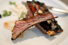 Last weekend in the New York Times Sunday magazine (June 26, 2011), was a nice food story, written by Sam Sifton, featuring glazed lamb ribs. Quite accurately, Sam observes that, heretofore, lamb r…
