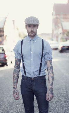 Braces & Flat Caps | Mens Fashion Magazine