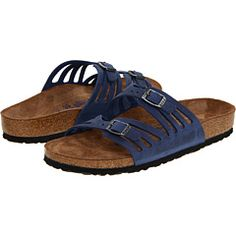 5e4bf9b70168 Granada Soft Footbed (Twilight Blue Oiled Leather) · Birkenstock GranadaBirkenstock  SandalsSlipper SandalsMens ...