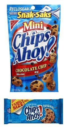 Designer Clothes, Shoes & Bags for Women Mini Chocolate Chips, Chocolate Chip Cookies, Chips Ahoy Cookies, Bite Size Cookies, Apple Dump Cakes, Mini Chips, Sweet Desserts, Food Food, Baseball Manager