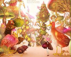 Alice in Wonderland - by Song Gum Jin
