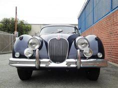 1960 Jaguar XK 150 FHC  s/n S834330DN, Engine no. V1435-8  Dark Blue with Elephant Grey Leather
