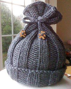 We Like Knitting: Rib-Knit Baby Hat - Free Pattern