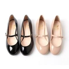 YESSTYLE: kenzi w- Patent Mary Jane Flats - Free International Shipping on orders over $150 ($50-100) - Svpply