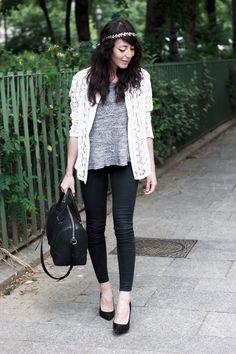 Veste-resille-By-Julie-Couronne-laurier-Primark-T-shirt-gris-IRO-Jean-Topshop-Escarpins-Sacha-Sac-Lucrezia-Givenchy