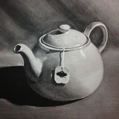 charcoal object drawing - Google Search