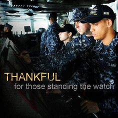 THANKS TO MY SAILOR