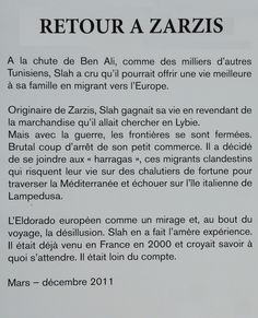 OLIVIER JOBARD Retour à Zarzis // 2016 treizième festival de la photo La Gacilly / Les océans
