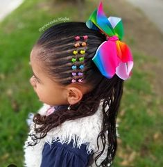 Little Girl Short Hairstyles, Easy Toddler Hairstyles, Cute Hairstyles, Braided Hairstyles, Baby Girl Hair, Fine Hair, Dyed Hair, Short Hair Styles, Hair Cuts
