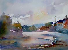 watercolor by Mineke Reinders