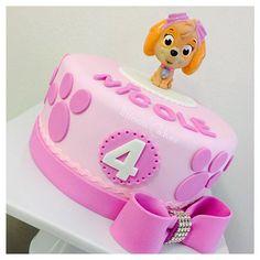 Torta de la Patrulla Canina. Ideal para una celebración temática.#Pawpatrol #tarta
