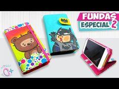 DIY✔ FUNDAS CASERAS para Celular - Dibujadas!! (Especial 2) ★Así o más fácil★ - YouTube
