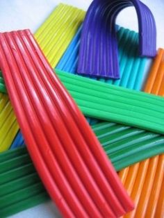 Plasticine - I can still remember the smell of this stuff.