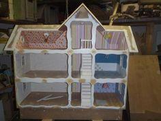 video puppenbett selber bauen anleitung puppenm bel pinterest puppenbett selber bauen. Black Bedroom Furniture Sets. Home Design Ideas