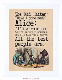 Image result for alice in wonderland tea party quotes