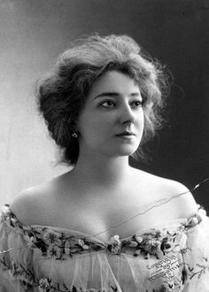 Anna Held 1897 - Stage Actress & Silent Movie Star (1872-1918)