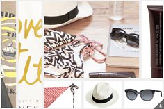 Pack That Thang Up with our favorite travel buddies on Enduring Ethereal. J.Crew Panama hat, Saint Laurent Sunnies, Laura Mercier tinted moisturizer, Olivine Sea Salt Spray, Ella Moss Bikini. Check out the full story on the blog today! www.enduringethereal.com
