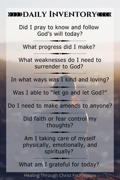 Step 10 Daily Inventory - Healing Through Christ Codependency Recovery, Aa Quotes, Inspirational Quotes, Crush Quotes, Qoutes, Motivational, Aa Steps, Addiction Recovery Quotes, Greek