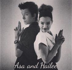 asa butterfiled, Hailee Steinfeld, I love them!!!! I SHIP #Haisa
