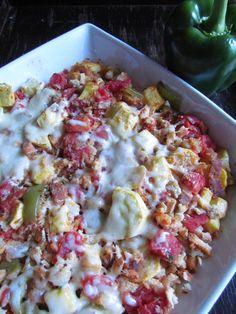 Ratatouille Bake: An Easy #Healthy Dinner #Recipe