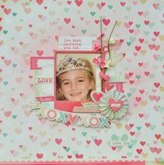 I Love You *MCS Main Kit Feb* - Crate Paper 'Love Notes' collection
