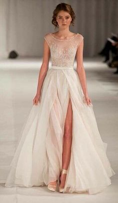 etherial wedding dress