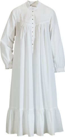 Eileen West Victorian Pinafore Nightgown | Womens Sleeveless Princess Gown