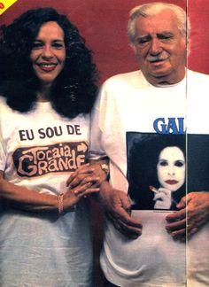 """""""Jorge Amado e Gal Costa - O Charme Discreto da Nação Baiana"""" - reportagem da revista """"Manchete"""" de 1984 - página 1/4."""