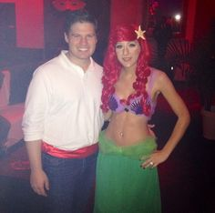 Prince Eric u0026 Princess Ariel Spotted out at Halloween! Perfect Couples  sc 1 st  Pinterest & Ariel and Eric my Little Mermaid costume :) Little Mermaid ...