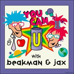 "You Can with Beakman and Jax by Jok Church: uCan answers real questions from real kids in the voice of twins, Beakman and Jax. The questions are often answered with ""Stuff To Do"" — physical procedures that offer readers a second path understanding. What one needs, what one should do, what to notice and what's going on and the usual steps in ""Stuff To Do."" Read more @ www.gocomics.com/beakman?utm_source=pinterest&utm_medium=socialmarketing&utm_campaign=social-pin"