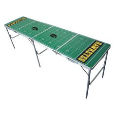 Wild Sports NCAA 2 x 8 Tailgate Pong Table - TPC-D-IOWA