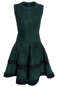 The way Alaia dresses fit is just magical!   Alaia Silk Square Neck Skater Dress