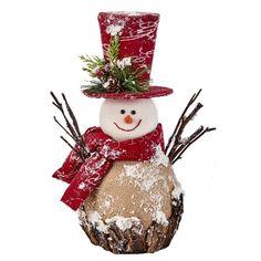 Manualidades The Holiday Aisle Styrofoam Iced Burlap Snowman Snowman Christmas Decorations, Christmas Figurines, Snowman Crafts, Diy Christmas Gifts, Christmas Snowman, Christmas Projects, Holiday Crafts, Christmas Ornaments, Holiday Decor