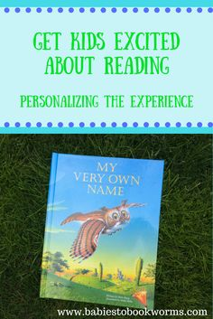 Get kids excited for reading by helping them to see themselves in books! Win a personalized book for  your child too!   Kids Books | Read Aloud | Personalized Children's Books