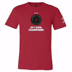 Product details Shirt features official Thorns logo with second championship star on front NWSL Champions logo on right sleeve Screen printed graphics Fabric: 100% combed and ring-spun cotton Official Portland Thorns FC Product Made by Bella + Canvas