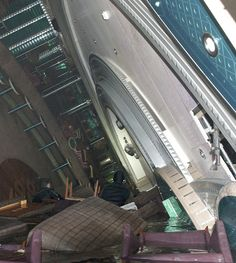 interior of Costa Concordia