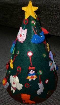 My Felt Christmas Tree