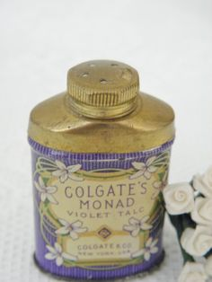 1920s Talcum Powder Tin