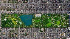 30 kunstige satellietfoto's (fotospecial) - Humo: The Wild Site