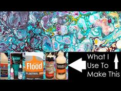 10 Minutes in the Studio. Two Pouring Projects. No Talking. No Background Music. Just Work - YouTube