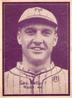 d778dc953a 1931 W517  11 George Kelly Front. Baseball King