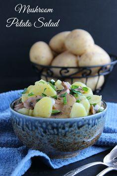 Mushroom Potato Salad
