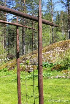 KoivulaDesign: kierrätys Trellis, Container Gardening, Diy And Crafts, Pergolas