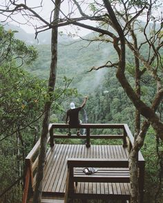 Mirante da Cascatinha, Parque Nacional da Tijuca - Rio de Janeiro.