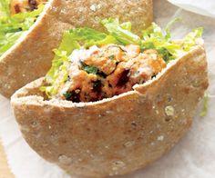 Si usted no es amante de la carne, le tenemos esta deliciosa opción con salmón, rico en Omega-3.