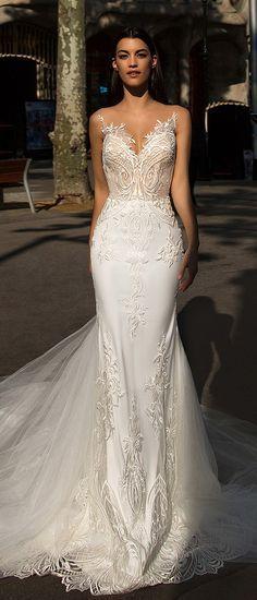 Milla Nova Bridal 2017 Wedding Dresses bler / http://www.deerpearlflowers.com/milla-nova-2017-wedding-dresses/2/