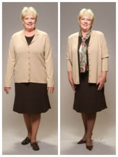 Style Dilemma: How can I dress to look thinner? Over 60 Fashion, 50 Fashion, All About Fashion, Plus Size Fashion, Autumn Fashion, Fashion Outfits, Womens Fashion, Fashion Design, Fashion Quiz